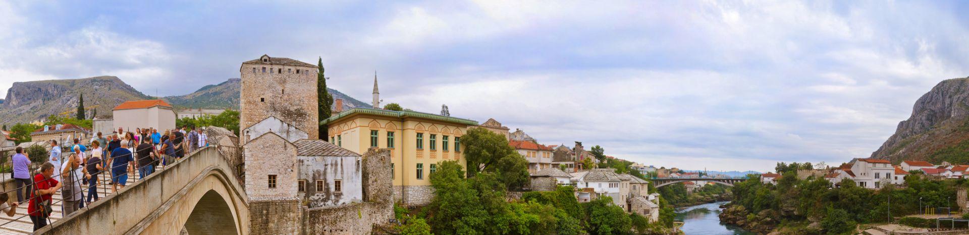 טיול מאורגן למונטנגרו ובוסניה כולל העיר סרייבו ושמורות הטבע בפסגות הרי הבלקן